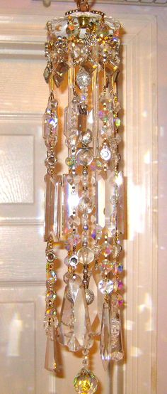 Crystal Prism Wind Chime Indoor or Outdoor  by YourCrystalDream