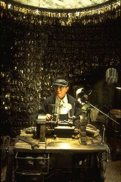 """Randall Duk Kim in """"The Matrix Reloaded"""", 2003"""