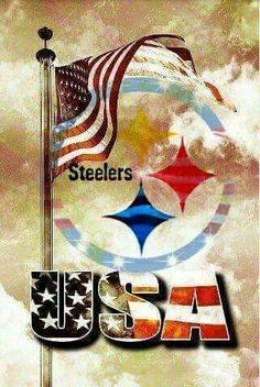 USA - ( Pittsburgh Steelers. Wallpaper )