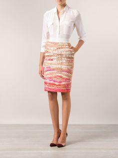 Altuzarra Pencil Skirt - Hirshleifers - Farfetch.com