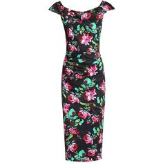 Bursting with blooms, this Wiggle Dress from Jolie Moi is ideal for stepping out in style this season.  Crafted from a lightweight cotton fabric with a hint of…