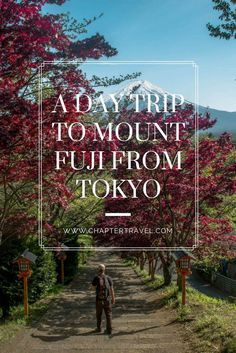 A Day Trip to Mount Fuji from Tokyo, Things to do in Japan, Things to do at Mount Fuji, Lake Kawaguchiko, Chureito Pagoda, Mountain, Fuji-San, Japan, Japanese mountain, Biggest mountain in Japan