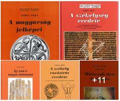 Varga Géza írástörténész: Varga Géza rovológus könyvei és néhány egyéb írása...