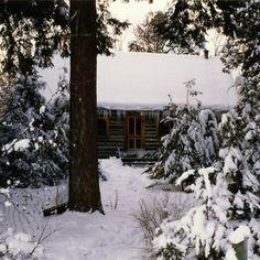 Winter Cabin In Ontario Canada. Contributed ByChris Critelli.