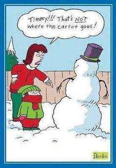 He Built a Snowman