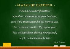 Always Be Grateful