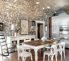 Rustique chic en Italie | PLANETE DECO a homes world | Bloglovin'