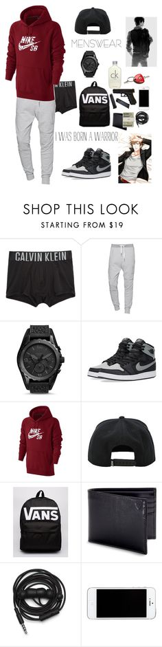 """Men's Fashion Kawaii"" by annahihernandez ❤ liked on Polyvore featuring Calvin Klein Underwear, True Religion, FOSSIL, NIKE, Vans, Aspinal of London, Jack Spade, Urbanears, Calvin Klein and Ferrari"