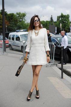 【PARIS】Onepiece: CHANEL / Bag: CHANEL / Shoes: Alexander McQueen