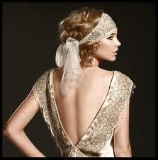 She wears this headpiece so well! It's makes for a delicate, bohemian, and elegant accessory to her wedding dress.