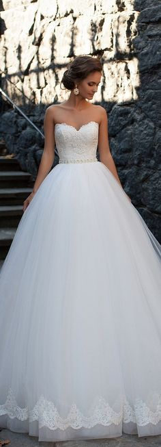 582 best Wedding Dresses images on Pinterest | Wedding frocks ...