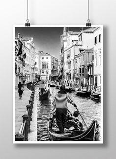 dodatki - plakaty, ilustracje, obrazy - inne-Plakat / Poster – Venice_2