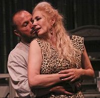 """Kingdom of Earth review!""""PURE TENNESSEE WILLIAMS. The literal oozing of sexuality is palpable.odysseytheatre.com"""