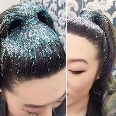 MakingYouShine : Glitter no cabelo?! Tendência Roots