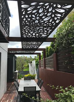 Pergola Terrasse - Pergola With Roof Outdoor Rooms - Pergola Ideas Modern - - Pergola Bioclimatique Terrasse Diy Pergola, Wood Pergola, Outdoor Pergola, Outdoor Rooms, Pergola Ideas, Modern Pergola, Privacy Screen Outdoor, Privacy Panels, Small Pergola