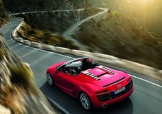 The R8 Spyder V10! They Should have a 'Love' button for this but in its absence, click on 'Repin' instead.