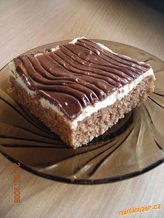 Czech Recipes, Ethnic Recipes, Tiramisu, Ale, Food And Drink, Yummy Food, Sweets, Baking, Desserts