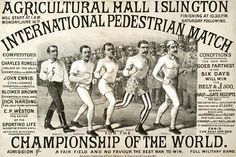 Pedestrian match || when walking was the America's favorite spectator sport || this is fascinating!