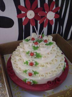 Quilling - Cake