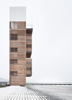 voyeuristic architecture  | watching tower