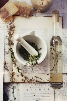 DIY: How To Store and Make Your Own Herbal Remedies ↣✿