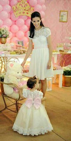 Mae e filha princesa