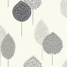 Dante Motif Black wallpaper by Arthouse