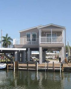 modern architecture beach houses on piers - Google Search