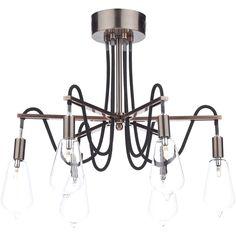 Dar Lighting Scroll 6 Light Semi-Flush Ceiling Light & Reviews | Wayfair.co.uk