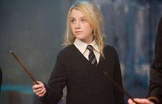 In 2003, an 11 year old Evanna Lynch had been writing to JK Rowling about her battle with anorexia and how much she dreamed of being an actress. To her surprise, Rowling became her penpal and counseled her through it. She said that anorexia was destructive and not creative. Rowling also said that if Evanna beat the disease, she could audition for the role of Luna Lovegood. She did and beat out 15,000 girls for the role.