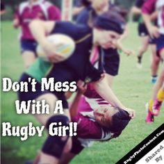 Don't mess with a #RugbyGirl  By IG:nnicolecojocaruu