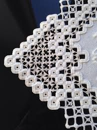Image result for hardanger pattern Square ivory doily
