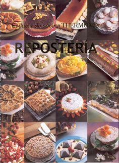 Reposteria Escuela de Cocina Vol 2 -Thermomix