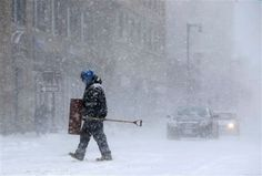 More Snow on the Way for the Northeast    The Snow fall on the east coast has led to a delay in the flights and the people of Massachusetts have been hampered.