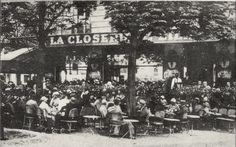 Montparnasse.Cafés rented tables to poor artists for hours at a stretch. Several, including La Closerie des Lilas, remain in business today.