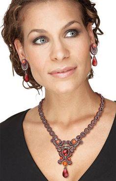effortless chic with Dori's Scarlet jewelry suite #DoriCsengeri #designermaker…