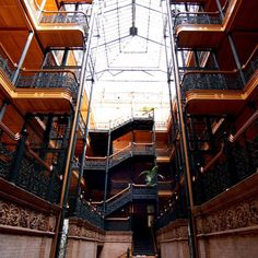 Bradbury Building - a piece of LA's architectural history. You might remember it from Bladerunner, 500 Days of Summer, or The Artist // localadventurer.com