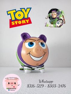 Alcancía Buzz Light Year - Little Pigs Workshop