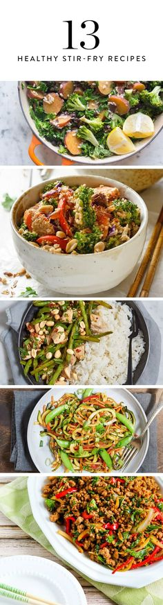 13 Easy Stir-Fry Recipes That Won't Ruin Your Diet via @PureWow
