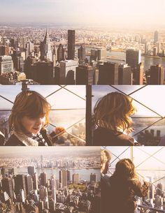 Nyc, new york city, the empire state building