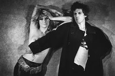 Keith Richards and Patti Hansen from back in the day. LOVE.