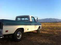 1968 f250 camper special | #320995595617 - 1968 Ford F250 vintage classic truck camper special ...