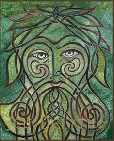 Green Man - Celtic Art