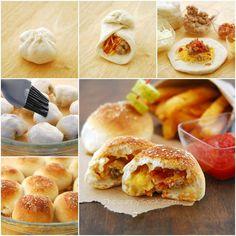 How to DIY Tempting Bacon Cheeseburger Pizza Balls tutorial and instruction. Follow us: www.facebook.com/fabartdiy