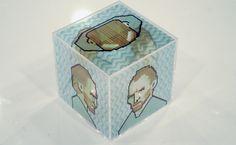 Pixel art_VER. test 05 (pixel-cube) by jaebum joo, via Behance