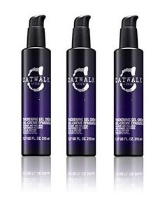 TIGI Catwalk Your Highness Thickening Gel Creme 727 oz Pack of 3 >>> Visit the image link more details. (It is an affiliate link and I receive commission through sales) Tigi Catwalk, Hair Hacks, Hair Care, Styling Products, Styling Tips, Packing, Personal Care, Bottle, Hair Styles