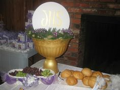 First Communion Party Decor