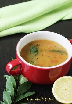 lemon rasam recipe | south Indian rasam recipe