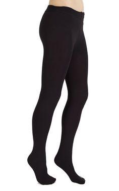 Knit Fleece-Lined Full-Foot Tights - Fleece-Lined Tights