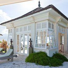 Les Jolies Eaux, Mustique - Princess Margaret's one-time West Indies retreat.